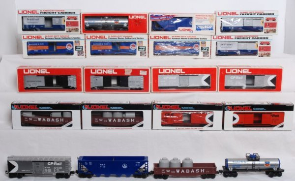 1: Lot of 20 Lionel rolling stock