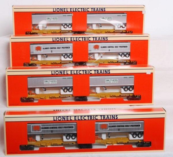 2: Lot of four Lionel TTUX sets