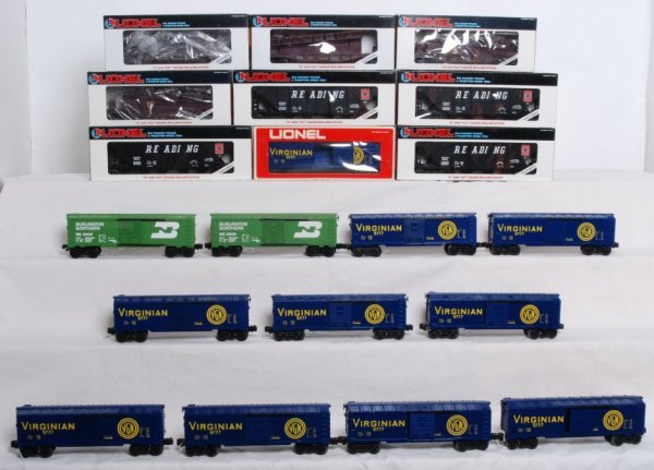 4: Lot of 20 Misc. Lionel rolling stock