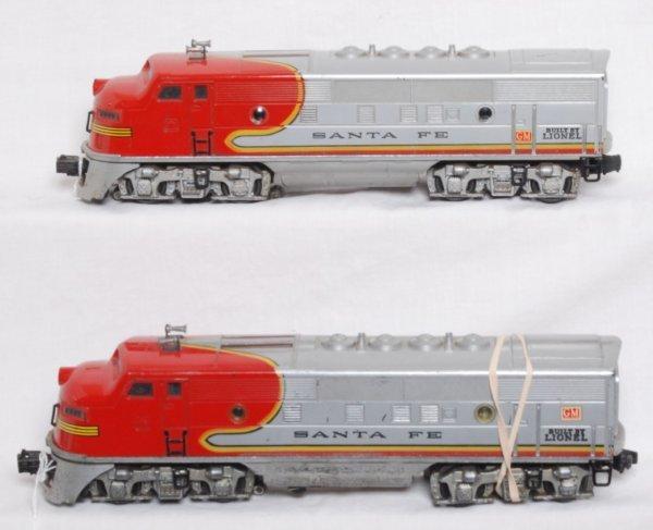 18: Lionel No. 2333 Santa Fe F3 diesel A units
