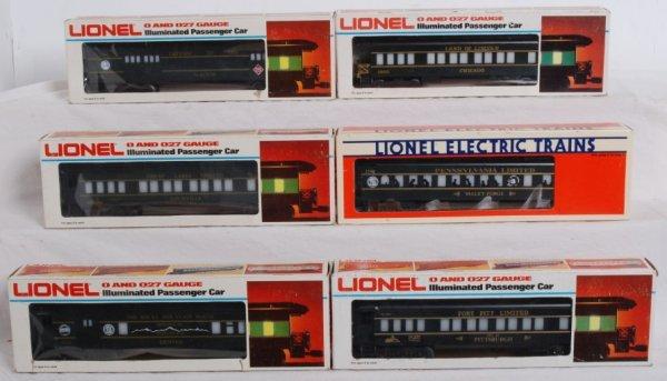 4: Lionel TCA convention passenger cars
