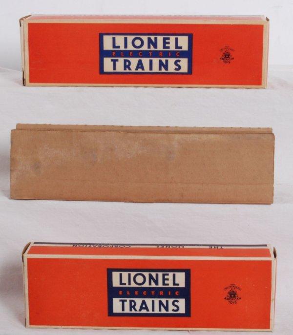 23: Empty postwar Lionel 6430 and 6560-25 OB