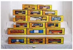 1 Lot of 17 Railking cars  7944 79212 7466 Etc