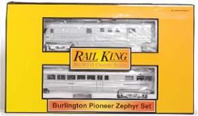 125: Railking Burlington Pioneer Zephyr
