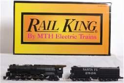 189: Unrun Railking Santa Fe Northern with Protosound