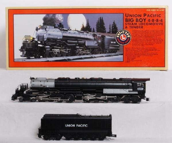 311: Lionel Union Pacific Big Boy with TMCC