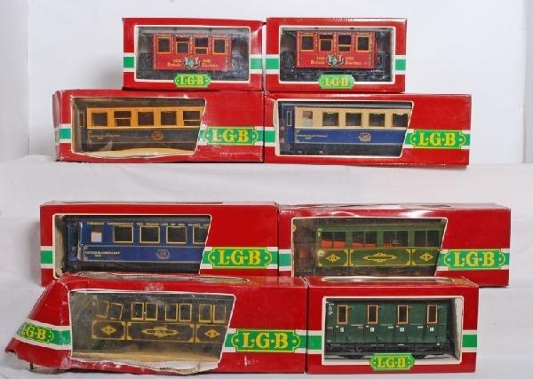 396: 8 LGB passenger cars