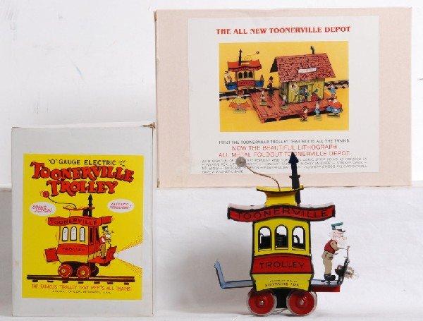C/&M O Gauge Electric Toonerville Trolley MIB