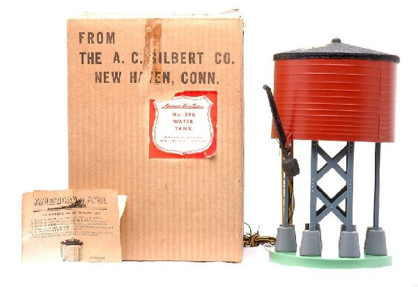 9: American Flyer 596 Water Tank Boxed