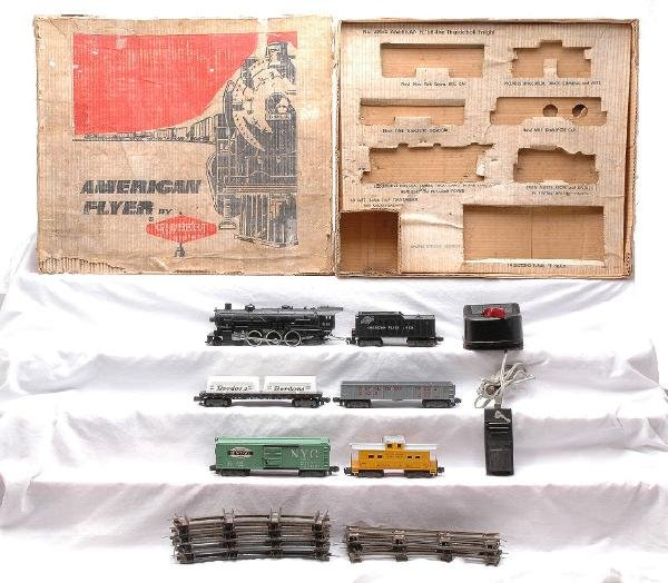 10: AF The Thunderbolt Freight Set 20615 Boxed
