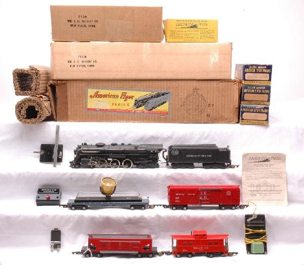 12: Am Flyer NYC Freight Set no. 4611A Boxed