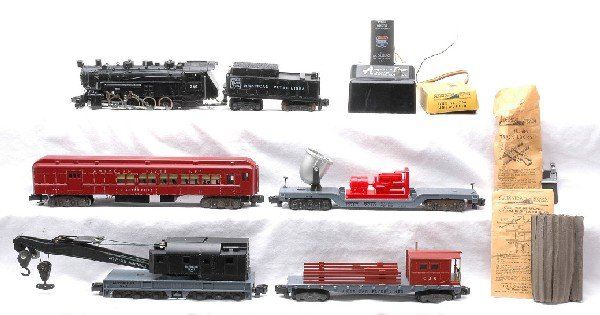 20: Am Flyer The New Yard King Freight Set 5545W