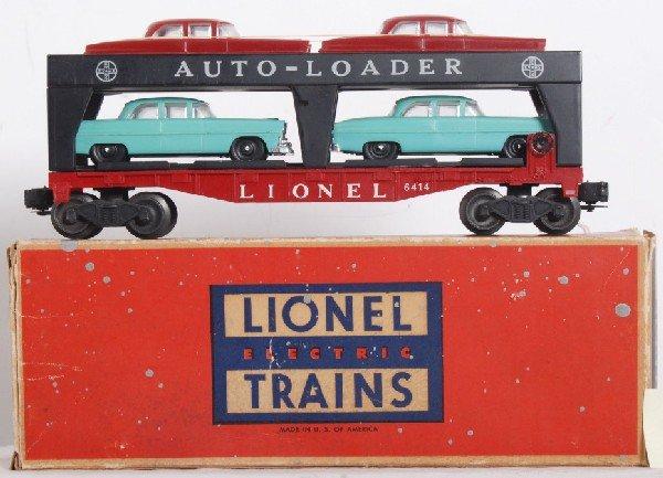 6: Lionel No. 6414 Evans Auto-Loader in OB w/autos