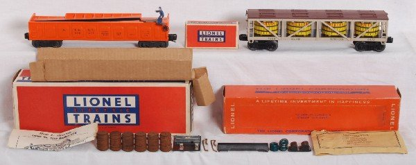 8: Lionel No. 3562 w/components and 6475 in OB