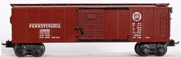 20: Prewar Lionel No. X2954 Pennsylvania boxcar