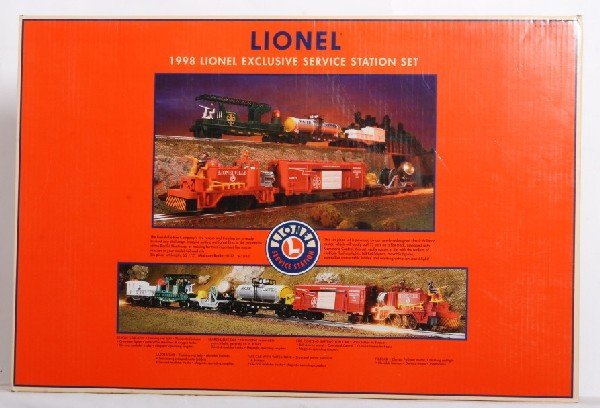 15: Lionel Service Station Fire and Rescue set TMCC