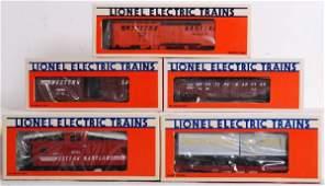 463: Lionel W.M. Fallen Flags set freight cars