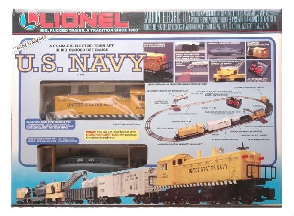 1: Lionel 111745 US Navy Freight Set Factory Sealed