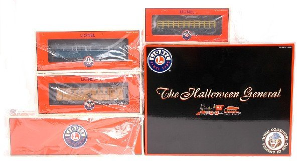 12: Lionel LCCA 52300 Halloween General Set MINT OB