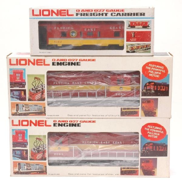 23: Lionel FEC 8064 8065 GP9 9382 MINT Boxed