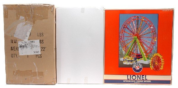 106: Lionel 14110 Operating Ferris Wheel MINT Boxed