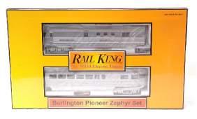 256: RK by MTH 30-2186-1 Burlington Zephyr Set MINT OB