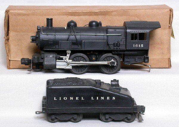 2000: Lionel 1615 0-4-0 and tender