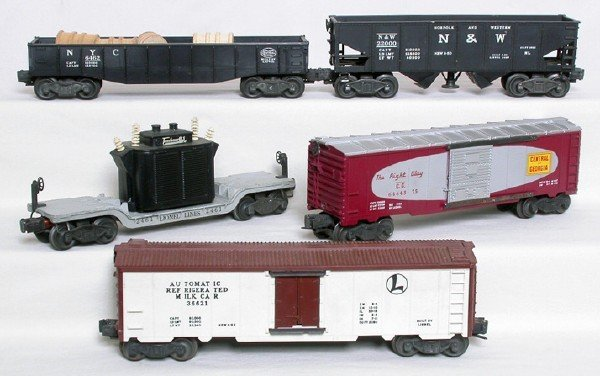 2001: Lionel freight cars 2461 3456 3662 6462 6464-375