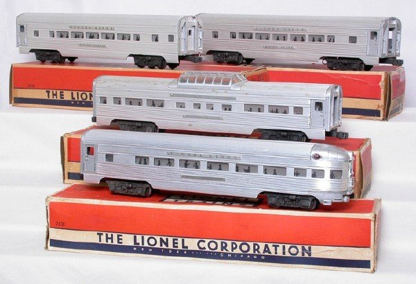 2005: Lionel 2531 2532 2533 2534, round rivets, OBs