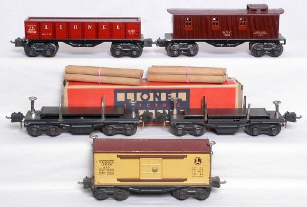2020: Lionel freight cars 655 1682 2677 3651 3651