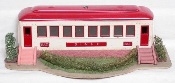2022: Lionel 442 diner, intact decal