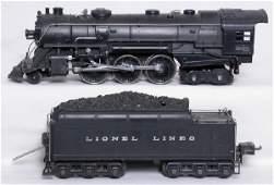 2205: Lionel prewar 226E steam loco and tender
