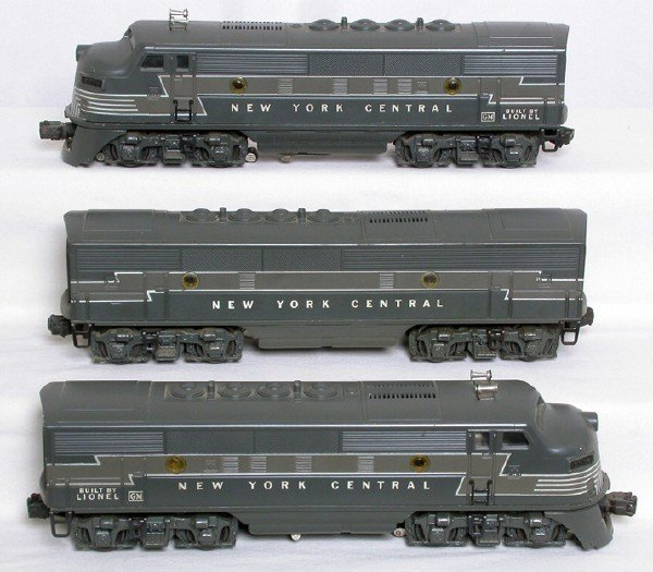 2244: Lionel 2354 New York Central F3 ABA units