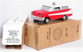 2256: Mint Lionel 68 inspection car in box