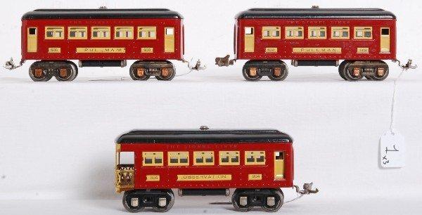 1: Prewar Lionel No. 603, 603 and 604 passengers