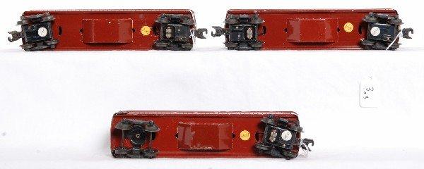 3: Postwar Lionel 2442 x2 and 2443 passenger cars - 3