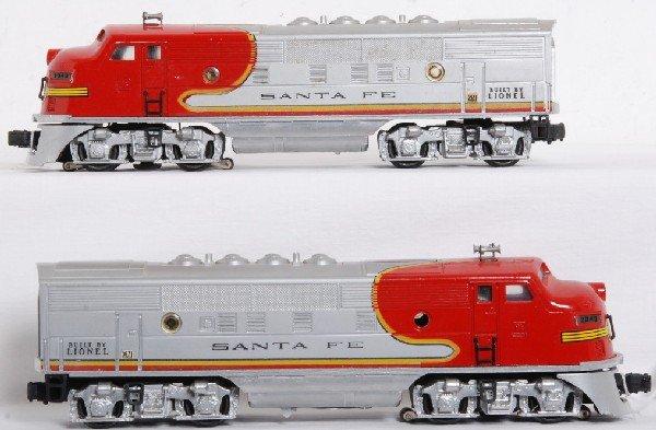 4: Lionel No. 2343 Santa Fe EMD F3a units