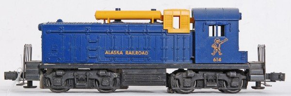 5: Lionel No. 614 Alaska NW-2 diesel switcher