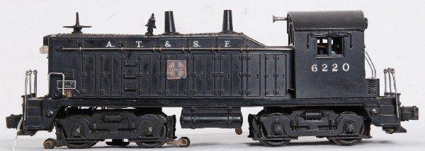 9: Lionel 6220 Santa Fe NW-2 diesel switcher