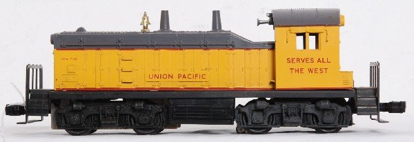 11: Lionel No. 613 Union Pacific NW-2 diesel switcher