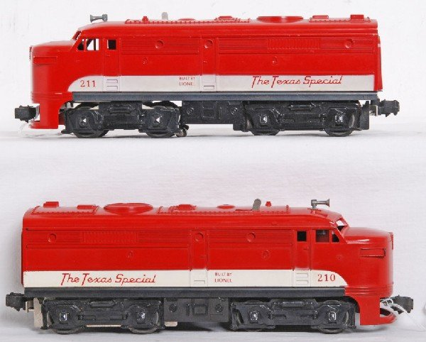 20: Lionel No. 210 MKT The Texas Special Alco A units