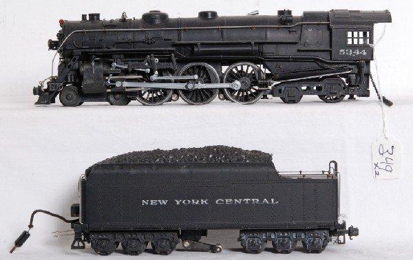 349: Lionel prewar O gauge 700E 5344 NYC Hudson