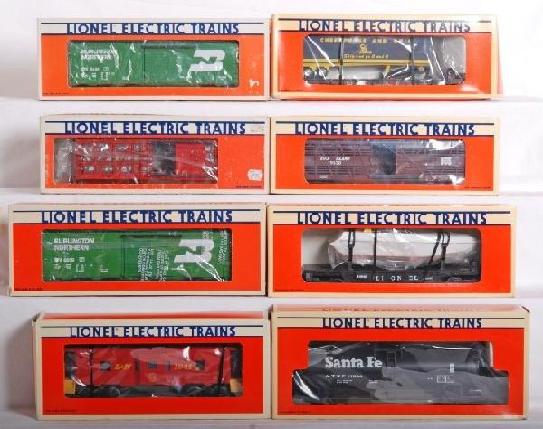 1003: 15 Lionel cars and cabooses, Frisco, TCA, etc.