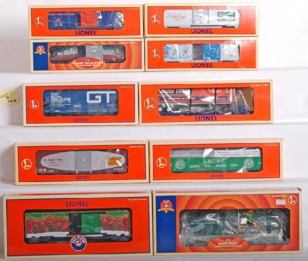 1006: 15 Lionel  cars, Looney Toons, LOTS, AEC...