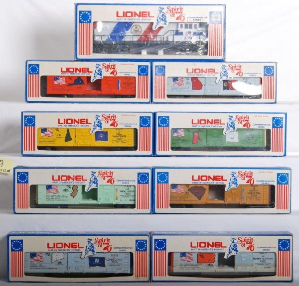 1009: Lionel Spirit of 76 train set