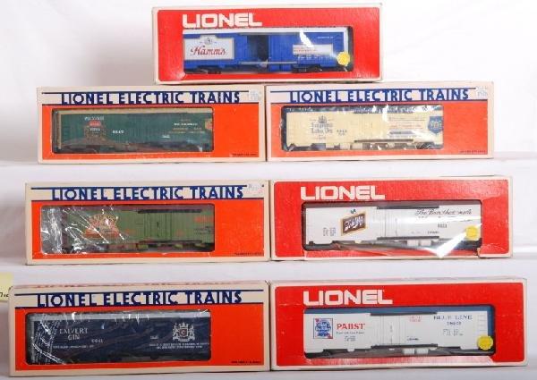 1019: 17 Lionel liquor reefers 9840, 9856, 9814, Etc.