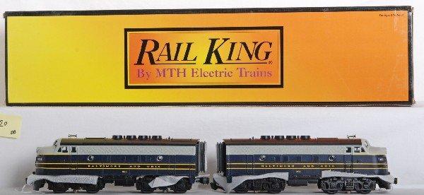 1020: Railking B&O F3 A-A set with Proto