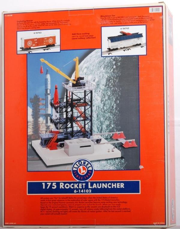 1024: Lionel modern 175 rocket launcher 14102