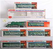 1047 Lionel Southern Crescent loco 6 pass cars