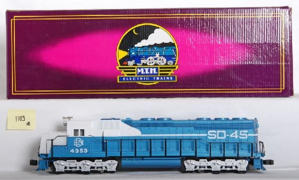 1103: MTH EMD SD-45 demonstrator with Proto